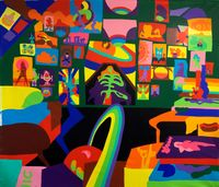 Dreamer Believer by Todd James contemporary artwork painting