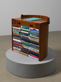 Homage to Gertrude Stein: Lucidity & Intuition by Susan Hiller contemporary artwork sculpture, mixed media