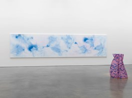 "Shirazeh Houshiary<br><em>Nothing is deeper than the skin</em><br><span class=""oc-gallery"">Lisson Gallery</span>"