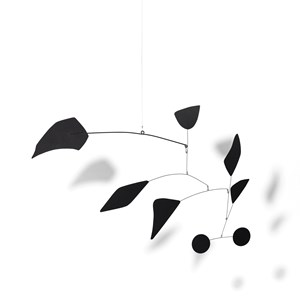 Two black discs and six others by Alexander Calder contemporary artwork
