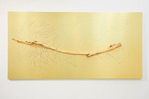 Golden IV by Yang Xinguang contemporary artwork