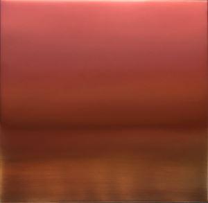 Shu-Iro (Vermillion) 6.19.3.3.1 by Miya Ando contemporary artwork