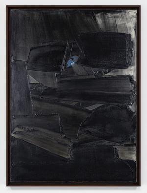 Peinture 81 x 59 cm, 11 mars 1960 by Pierre Soulages contemporary artwork
