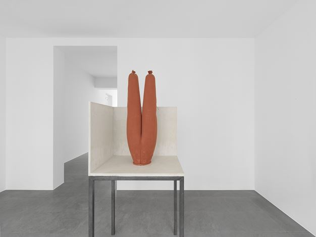 Exhibition view: Michel François, Xavier Hufkens, 6 rue St-Georges, Brussels (10 March–20 June 2020). Courtesy the Artist and Xavier Hufkens, Brussels. Photo: Allard Bovenberg.