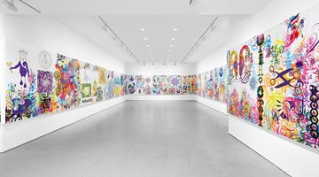 Contemporary art exhibition, Ryan McGinness, Mindscapes at Miles McEnery Gallery, 520 West 21st Street, New York, USA