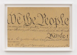 We the People... by Betty Tompkins contemporary artwork