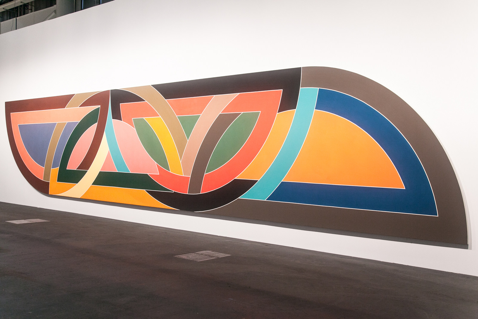 Image: Frank Stella at Unlimited, Art Basel 2016. Courtesy Marianne Boesky Gallery, Dominique Lévy Gallery, Sprüth Magers. Photo: © Timothée Chambovet & Ocula.