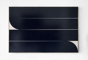 Dark Blue #5 by Johnny Abrahams contemporary artwork