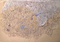 Line Surface by Tanpakushitsu (たんぱく質) contemporary artwork painting, works on paper, drawing