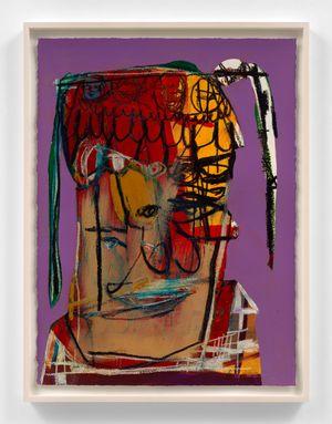 Jesus loves women by Genesis Tramaine contemporary artwork painting, drawing