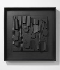Symphony 3 by Louise Nevelson contemporary artwork sculpture