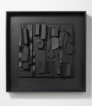 Symphony 3 by Louise Nevelson contemporary artwork