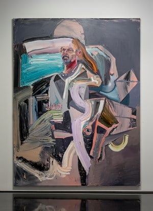 Whytie, used a machete by Ben Quilty contemporary artwork