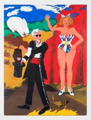 Magic Act I: Promoting Privilege by Robert Colescott contemporary artwork