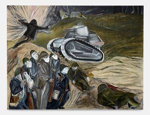 22 april 1915, gaz by Jacqueline de Jong contemporary artwork