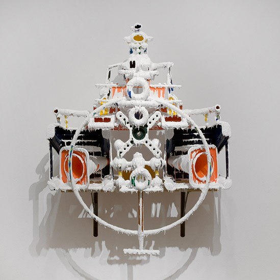 White Discharge (Built-up Objects #24) by Teppei Kaneuji contemporary artwork