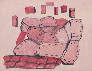 Untitled by Philip Guston contemporary artwork