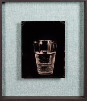 untitled (waterglass) by Steffen Diemer contemporary artwork