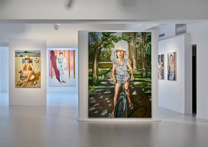 Exhibition view: Anh Duong, La Tentation d'Exister. There is always Champagne in the Fridge, Galerie Gmurzynska, Talstrasse,Zurich (8 June–30 September 2021). Courtesy Galerie Gmurzynska.