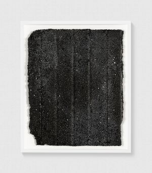 Untitled (Night Drawing) by Rachel Whiteread contemporary artwork