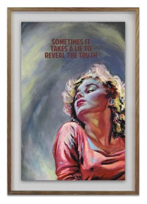Sometimes It Takes A Lie To Reveal The Truth by The Connor Brothers contemporary artwork