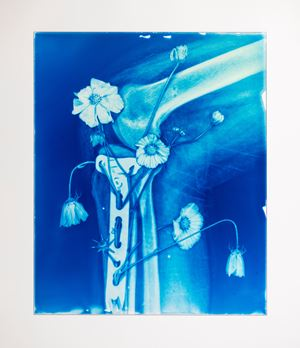Blood Blue No.12 by Hu Weiyi contemporary artwork