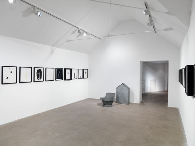 Exhibition view: Not Vital, SCARCH, Hauser & Wirth, Somerset (25 January–6 September 2020). © Not Vital. Courtesy the artist and Hauser & Wirth. Photo: Ken Adlard.