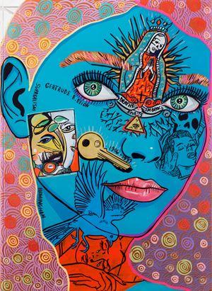 Emmy Bridgwater by Sam Mitchell contemporary artwork