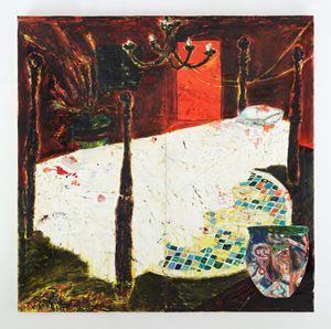 Sleepwalking by Angel Otero contemporary artwork