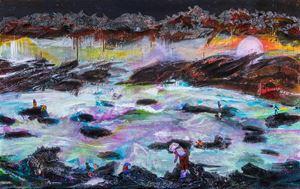 大地承載萬物 Earth carries everything by Suling Wang contemporary artwork