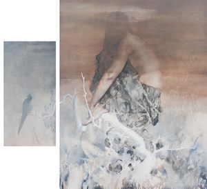 Melancolie condaminante by Jin Bo contemporary artwork