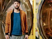 Man of parts: Conrad Shawcross' new 'crazy machine' spins into St Pancras International