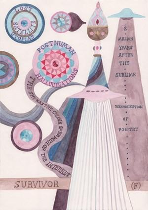 Survivor (F)/Lost Satellite Utopias by Suzanne Treister contemporary artwork