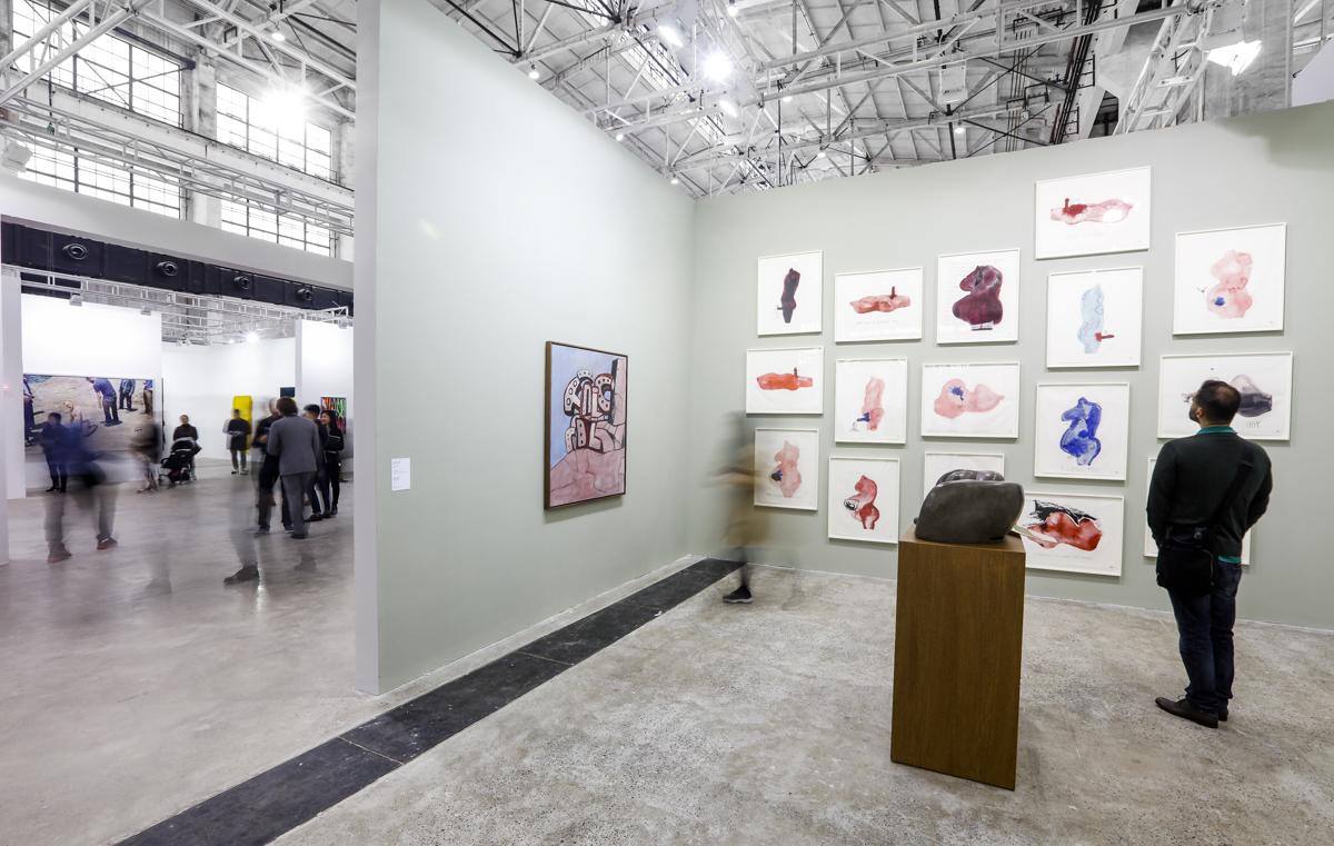 Exhibition view, Hauser & Wirth at The Shanghai West Bund Art & Design Fair, 2016. Image courtesy West Bund Art & Design Fair.