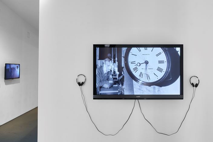 Exhibition view: Group Exhibition, Speaking Power to (Post) Truth curated by Sara Raza (17 January–16 February 2019). Courtesy Jane Lombard Gallery.