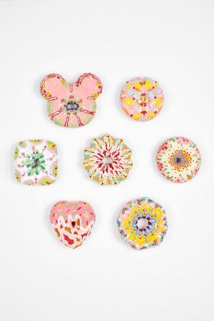 Pink Pink Donuts Set by Jae Yong Kim contemporary artwork sculpture