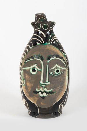 Femme du barbu by Pablo Picasso contemporary artwork