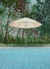 Untitled (Umbrella) by Melanie Siegel contemporary artwork painting