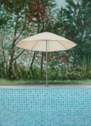Untitled (Umbrella) by Melanie Siegel contemporary artwork
