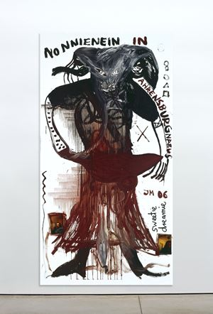 Nonninei in Ahrensburg by Jonathan Meese contemporary artwork