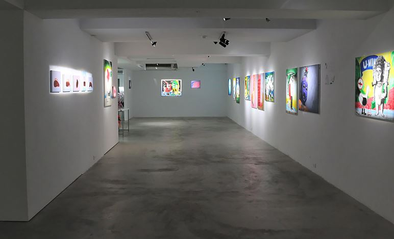 Exhibition view: Bobby Chen x Chih-Wei Huang, Finale, VT ArtSalon, Taipei (28 November–12 December 2020). Courtesy VT ArtSalon.