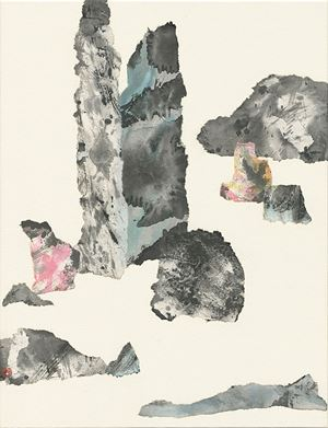 Intrinsic Potential Landscape No. 9 by Yuan Hui-Li contemporary artwork