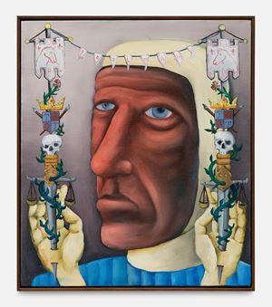 Portrait de l'Artiste by Tom Poelmans contemporary artwork