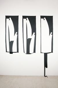 Lasciar cadere (triptych 1) by Marion Baruch contemporary artwork sculpture