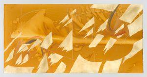 Immersive Integral / Rainbow Study 6 by Jorinde Voigt contemporary artwork