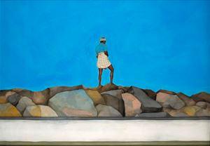 Jetty by Desmond Lazaro contemporary artwork