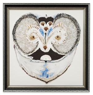 The Arien Owl by Lucy Dodd contemporary artwork