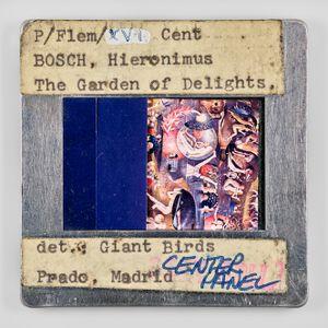 P/Flem/XVI Cent BOSCH, Hieronimus The Garden of Delights. det./ Giant Birds Prado, Madrid CENTER PANEL CCNY COLL by Sebastian Riemer contemporary artwork