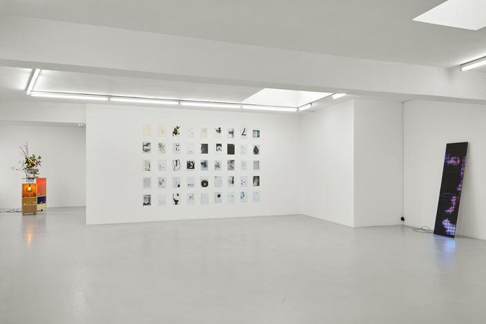 Exhibition view: Group Exhibition, Bureau de Change Curated by Raoul Klooker, Campoli Presti, London (7 March–31 May 2020). Courtesy Campoli Presti.