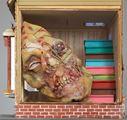 Shibusawa's House by Richard Hawkins contemporary artwork 4